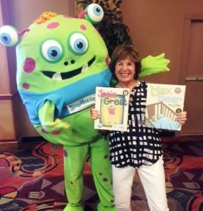 An author will visit St. Giles