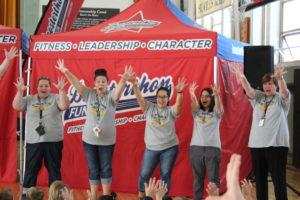 Lion's Leap Pep Rally!